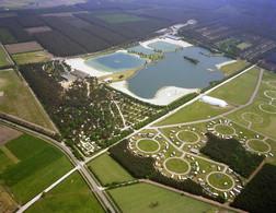 Westerhoven, Eurostrand, Luchtfoto LF951 - Pays-Bas