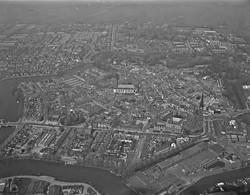 Woerden, Luchtfoto LF829 - Woerden
