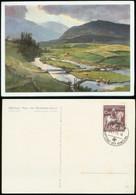 WW II Gemäldekarte , Verlag Hoffmann München : München , Das Haus Der Der Deutschen Kunst , Bild HDK 199 , Abend An De - Germany
