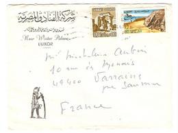 EGYPT ÉGYPTE LETTRE LETTER 1979 HOTEL NEW WINTER PALACE LUXOR LOUXOR - 2 Scans - - Egypt