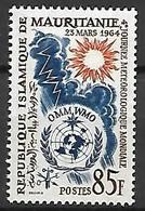 MAURITANIE    -   1964.   Y&T N° 177 **.   Météorologie  /  Soleil - Mauritania (1960-...)