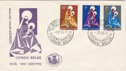 Noël 1959 Kerstmis - Belgian Congo