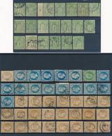 FRANCE - COLLECTION  DE 260 TIMBRES OBLITERES CLASSIQUE  POUR ETUDE - Sammlungen