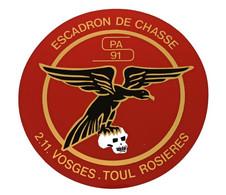 Escadron De Chasse 2/11 Vosges SPA 97 Toul Rosières - Luchtvaart