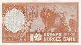 NORWAY P. 31b5 10 K 1957 UNC - Noorwegen