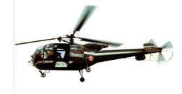 Gendarmerie - Alouette III  - Autocollant - Police
