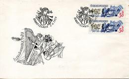 TCHECOSLOVAQUIE. N°2325 De 1979 Sur Enveloppe 1er Jour. Orchestre Symphonique De Bratislava. - Music