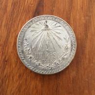MEXIQUE - 1 Peso K 455 1932 - Argent 16,66 G Ley 0.720 - Mexico