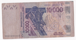 Burkina Faso. 10000 Francs CFA 2003 Banque Centrale Des Etats De L'Afrique De L'Ouest - Burkina Faso