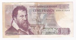 Belgique 100 FRANCS 16. 03. 1972 - 100 Francs