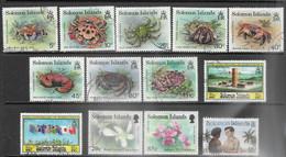 Solomon Islands   1993   13 Diff Used   2016 Scott Value $8.05 - Salomoninseln (Salomonen 1978-...)