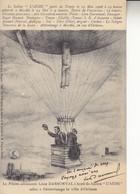 """10 - Aube - Le Ballon """"L'AUBE"""" Parti De Troyes Le 23 Mai 1926 - Troyes"""