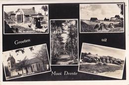 Mooi Drenthe - Stookhut Hunnebed Boslaan Kerkje - Aan: Planter Brummen - Sin Clasificación