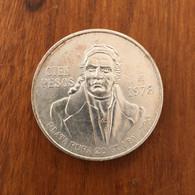 MEXIQUE - 100 Pesos K 483.2 1978 - Argent 27,7700 G Ley 0.720 - Mexico