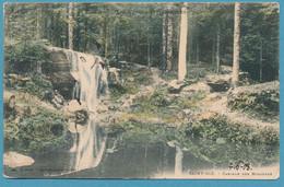 LES VOSGES PITTORESQUES - SAINT-DIE - Cascade Des Molières - Cpa Colorisée Circulé 1908 - Saint Die