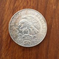 MEXIQUE - 25 Pesos K 479 1968 - Argent 22,5000 G Ley 0.720 - Mexico