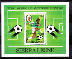 Sierra Leona Hoja Bloque Nº Yvert 13 ** DEPORTES (SPORTS) - Sierra Leone (1961-...)
