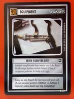 Star Trek CCG (Voyager) Equipment – Kazon Disruptor Rifle (uncommon) - Star Trek