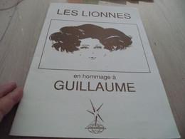 Haute Coiffure Paris Les Lionnes Programme 28 Pages Hommage à Guillaume Coiffeur - Programmes