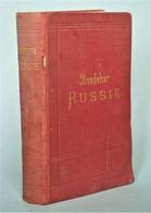 [Russie] - Baedeker - Russie. Leipzig, Karl Baedeker éditeur, 1893. - 1801-1900