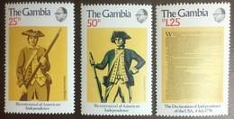 Gambia 1976 American Bicentennial MNH - Gambia (1965-...)