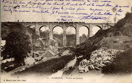 CPA St-Brieuc Viaduc De Gouédic - Puentes