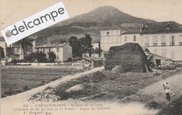 CARQUEIRANNE : Avenue De La Gare . Chemin De Fer Du Sud De La France,Ligne Du Littoral. édit Bougault. - Carqueiranne