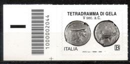 Italia 2020 - Tetradramma Di Gela Codice A Barre MNH ** - Codici A Barre