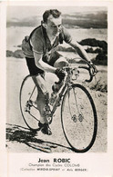 Cyclisme - JEAN ROBIC   Cycles COLOMB Miroir Sprint Anis Berger - Cycling