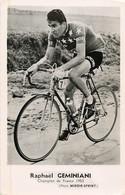 Cyclisme - RAPHAEL GEMINIANI  Champion De France 1953 Miroir Sprint - Cycling