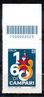 Italia 2020 - Davide Campari Codice A Barre MNH ** - Codici A Barre
