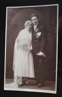 F182 Bride Groom Wedding Couple Arad 1931 - Fotografía