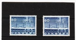 22E872 DÄNEMARK 1962  Michl  406 X + Y ** Postfrisch ZÄHNUNG SIEHE ABBILDUNG - Nuovi