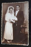 F185 Bride Groom Wedding Couple Foto Arte Braila - Fotografía