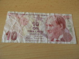 Türkei 10 Lirasi  ND Gebraucht - Turchia