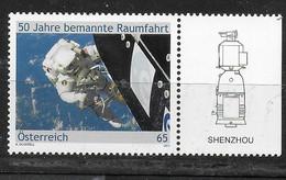 AUSTRIA - 2011 - 50° PRIMO VOLO SPAZIALE - NUOVO MNH ** (YVERT 2748 - MICHEL 2919 ) - Raumfahrt