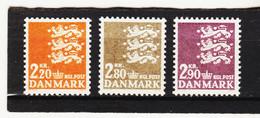 22E871 DÄNEMARK 1967  Michl 461/63 ** Postfrisch  ZÄHNUNG SIEHE ABBILDUNG - Nuovi