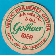 Brauerei Gotha ( Bd 2524 ) - Beer Mats