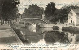 CPA Montceau-les-Mines Le Pont Tournant - Puentes