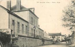 Dep - 03 - BEAUNE Mairie Ecole - France