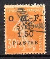 Col17  Colonie  Syrie N° 62 Oblitéré  Cote 1,50€ - Syrie (1919-1945)
