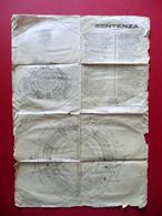 Paneroni Giovanni Foglio Volante Astronomia Terra Piatta Rudiano Brescia 1916 - Unclassified