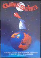 Giovedi Scienza Carte Postale - Reclame