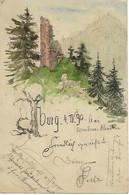 ALLEMAGNE - TRES TRES TRES RARE - YBURG - 1890 - - Baden-Baden