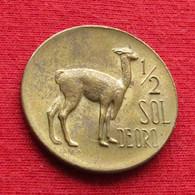 Peru 1/2 Sol 1968 KM# 247 Perou - Perú