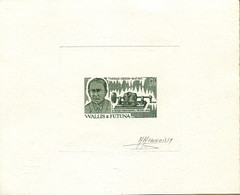 Wallis Et Futuna. Epreuve D'artiste. (Monvoisin) Edison - Music