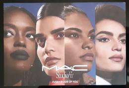 MAC Cosmetique Carte Size Carte Postale - Duftkarten