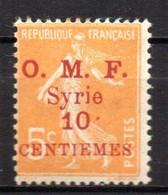 Col17  Colonie  Syrie N° 84 Neuf X MH  Cote 1,50€ - Siria (1919-1945)