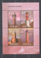 POLAND 2007 MARINE LANTERNS MS MNH - Blocks & Sheetlets & Panes
