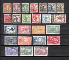 Yugoslavia  1919-20  .-  Y&T  Nº  53/60-63/70-79/84-85/86     (  63  Falta Punta  ) - Used Stamps